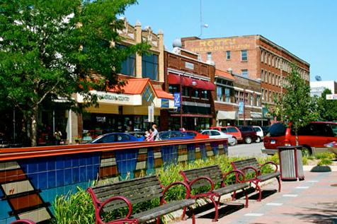 Photo of Ames Main Street